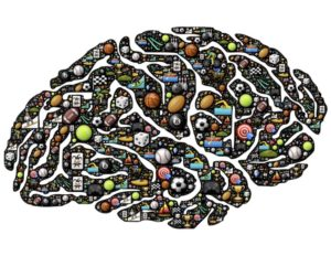 This is your customer's brain on brands. Where do you fit in? (Photo credit: Pixabay user johnhain – licensed for use under CC Public Domain license.)